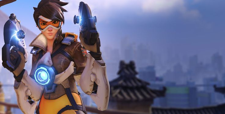Overwatch Tracer Wallpapers Wide ~ Sdeerwallpaper