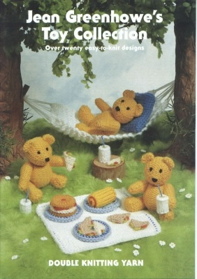 The 24 best images about Jean Greenhowe Knit Toy Pattern Books on Pinterest ...