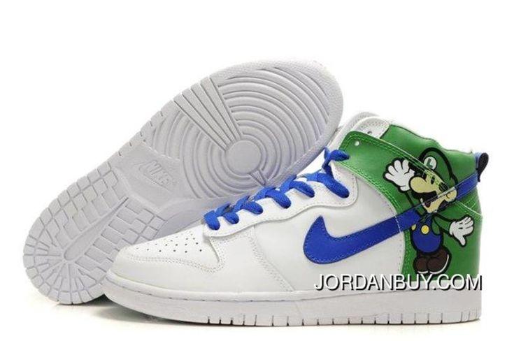 http://www.jordanbuy.com/original-nike-dunk-sb-2012-new-high-cut-mens-shoes-luigi-paper-mario-custom-white-green-blue-online.html ORIGINAL NIKE DUNK SB 2012 NEW HIGH CUT MENS SHOES LUIGI PAPER MARIO CUSTOM WHITE GREEN BLUE ONLINE Only $85.00 , Free Shipping!