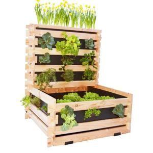 20 best ideas about carre potager en bois on pinterest for Carre de jardin en bois