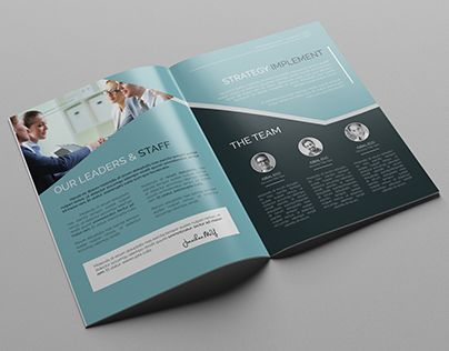Corporate Brochure Template Pages) Is Very Easy To Use And Change  Text,color,size,look And Everything Because I Made It On Adobe Illustrator  Included ( Eps ...