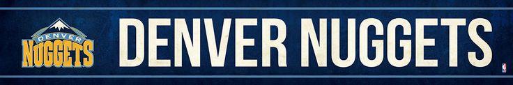 Denver Nuggets Street Banner $19.99