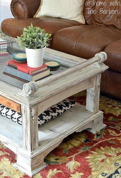chalk paint coffee table makeover homemade, chalk paint, painted furniture