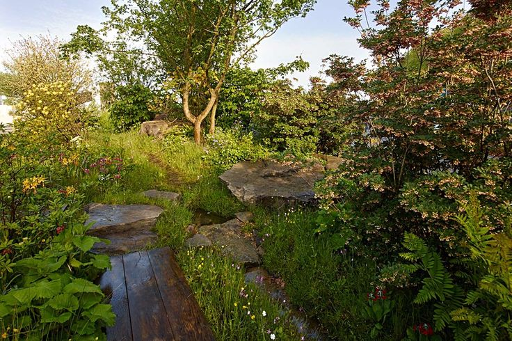 Laurent Perrier Chatsworth Garden<br>Chelsea Flower Show 2015<br>Awarded Gold Medal & Best In Show