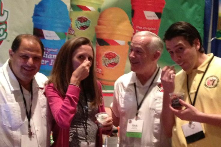 2013 International Association of Ice Cream Distributors and Vendors' members and staff at the Las Vegas convention.