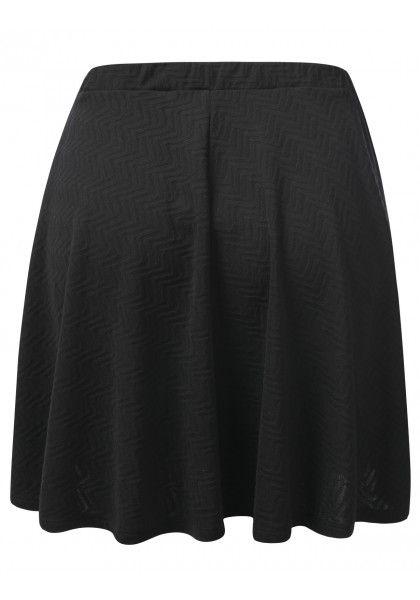 Geometric Print Skater Skirt #jtomsonplussize