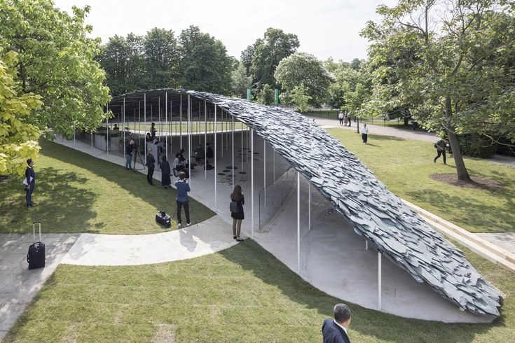 Gallery of First Look at the 2019 Serpentine Pavilion – 1