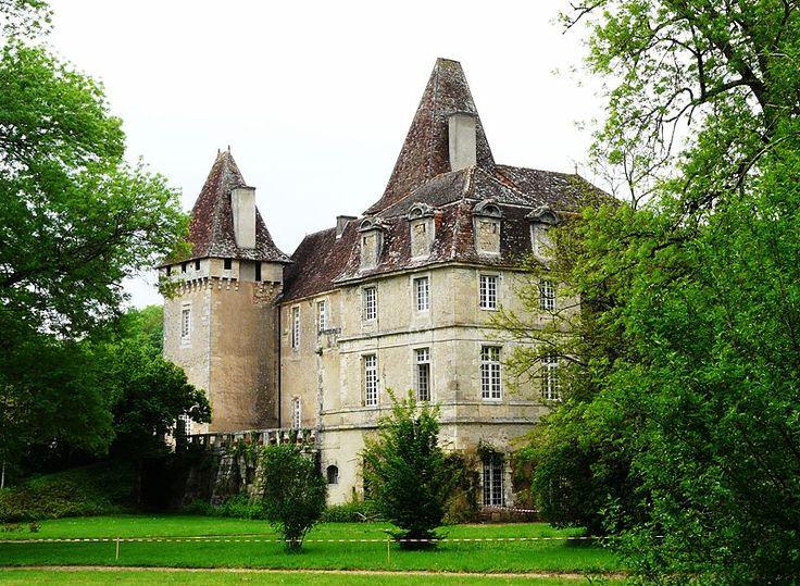 Le château de la Marthonye à Saint-Jean-de-Côle, Dordogne, France