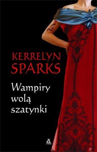 Okładka książki Wampiry wolą szatynki