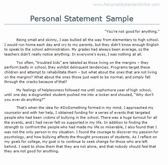 Personal Essay For College Format Beautiful 100 Best Statement Image On Pinterest In 2020 Example Year Up