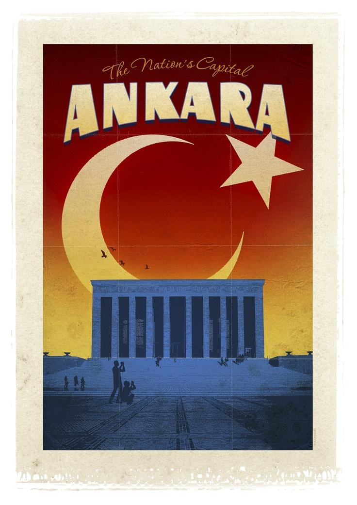 Ankara  atsan atılmaz, satsan satılmaz. soğuğuyla, ayazıyla The Nation's Capital diyorum :)