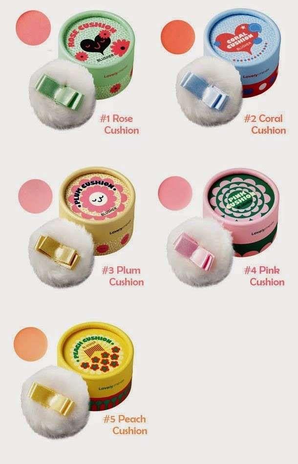Prodotti di bellezza coreani - Blush cushion Lovely ME EX Pastel