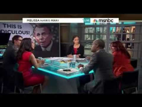 Melissa Harris-Perry Guest Erupts: 'Racial! I Will Not Sit Here and Allo...