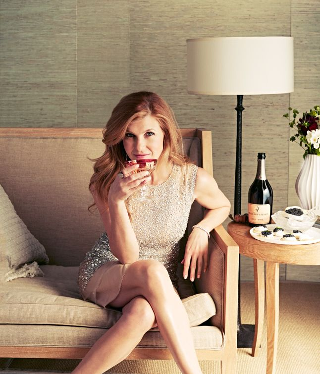 Friday Night Lights and Nashville's Connie Britton on Caviar, Champagne, and Her Perfect Hair - Bon Appétit