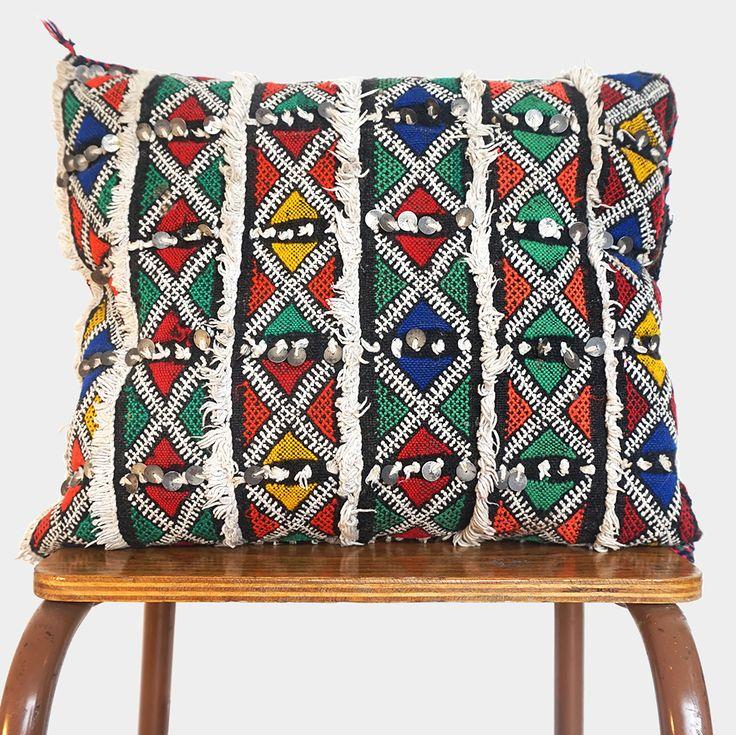 Vintage Berber kussen – Small