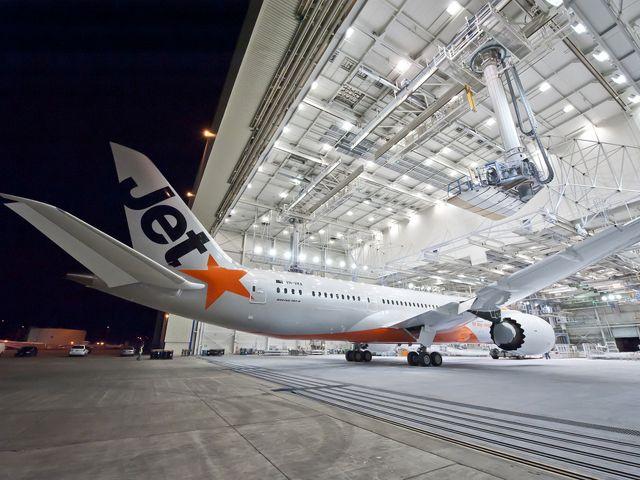 Jetstar first Boeing 787