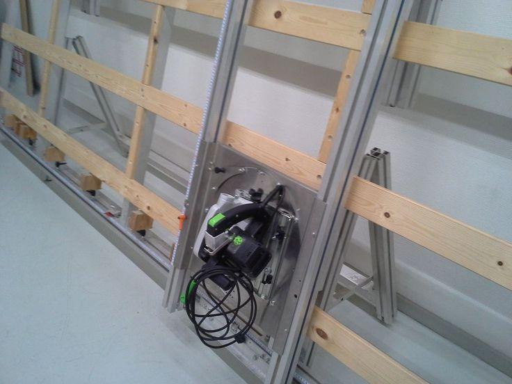 BMI Universal Pladesav med Festool rundsav / BMI Universal panel saw with Festool circular saw - 8