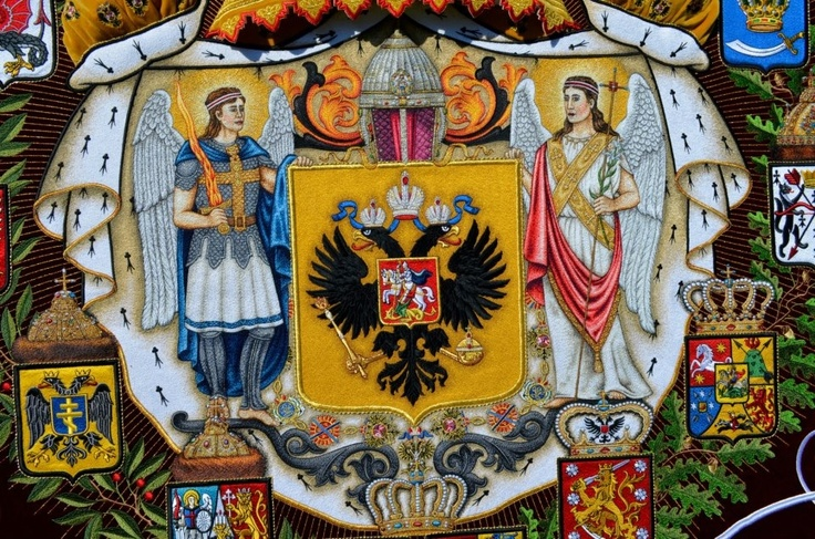 Detail of Great emblem RI