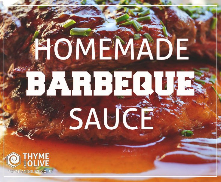 Some buy it and others make it!  Homemade BBQ Sauce Recipe by T&O.  #barbequesauce #bbq #recipes #honeyrecipe #bbqsauce