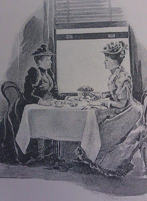 Victorian Ladies Who Lunch, Or: Luncheon Places and Tea Rooms for Ladies thevictorianist.blogspot.com