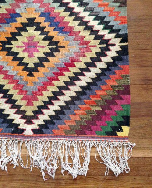 Turkish Kilim Rugs, Vintage