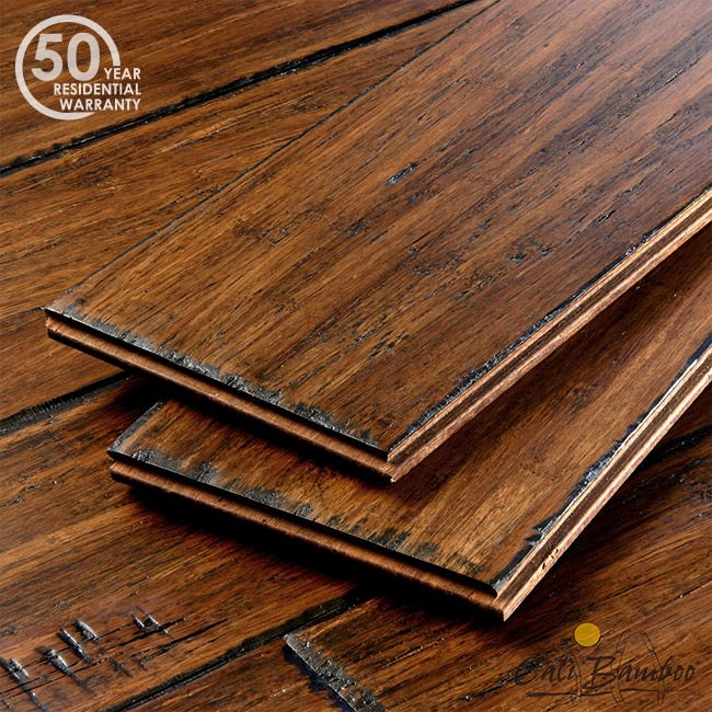 Java Fossilized® Click Lock Bamboo Flooring The World's Hardest Floor just got easier to install. Antique Floors - Uniquely Distressed and Aged To Perfection | Antique Java | World's Hardest Floors!  Janka tested at 5000+ 50-year residential warranty 10-coat scratch resistant finish Ultra-low VOC; no added urea formaldehyde Installs over all subfloors including radiant heat
