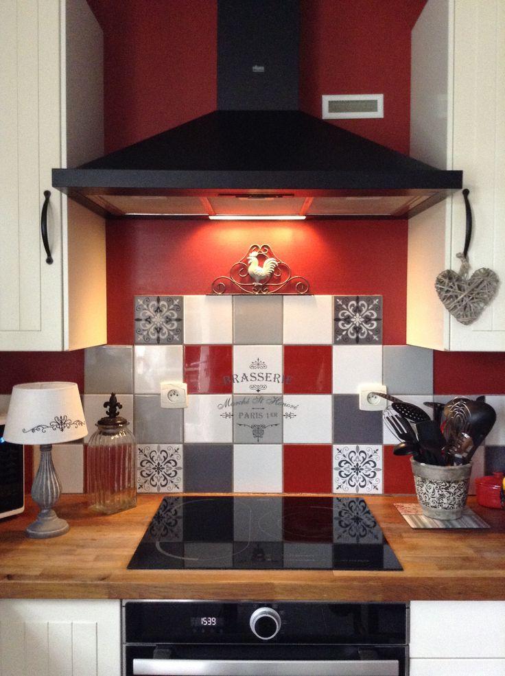 Les 25 meilleures id es concernant pochoir des meubles sur for Faience deco cuisine