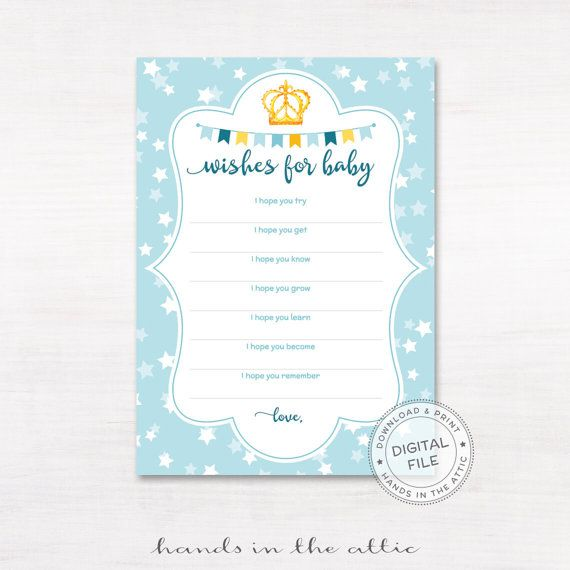 Predictions For Baby Shower Guessing Game Baby Boy Shower Baby Stats Game  Printable Cards Printable Baby Shower Party Supplies DIGITAL By  HandsInTheAttic