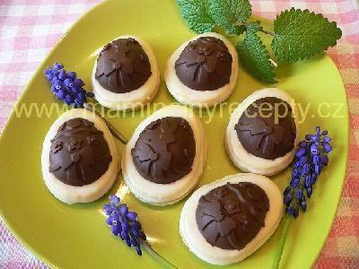 Linecká vajíčka s čokoládou