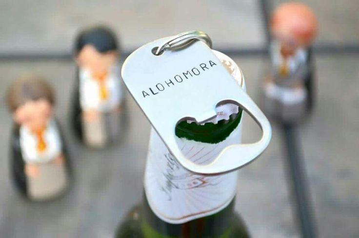 Harry Potter Groom/Groomsmen gift, bottle opener