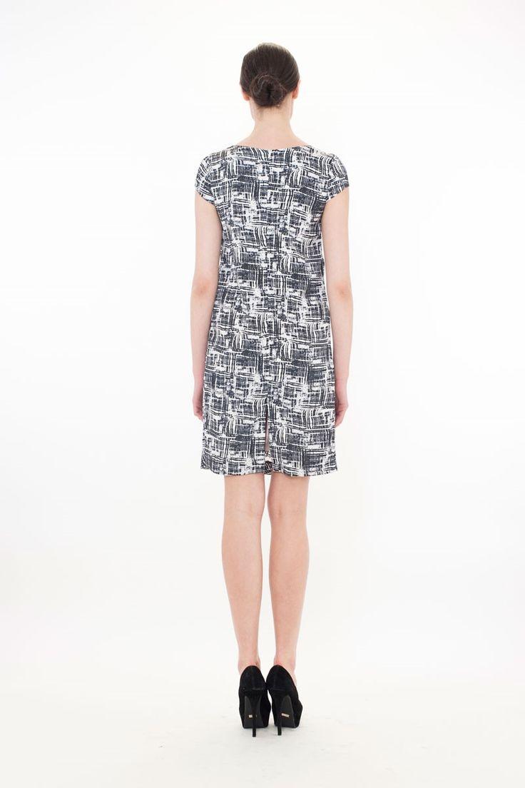 LOCK. FROCK AND BARREL Dress - DOUBLE CROSS BOARDROOM SP14 : Boardroom-New In : Trelise Cooper Online