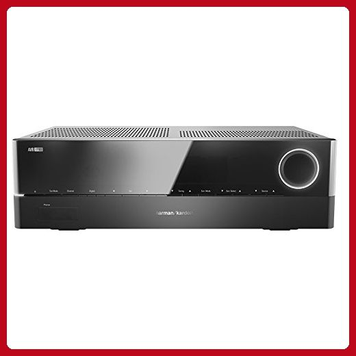 Harman Kardon Audiophile Performance Home Theater Receiver (AVR 1710S) - Audio gadgets (*Amazon Partner-Link)