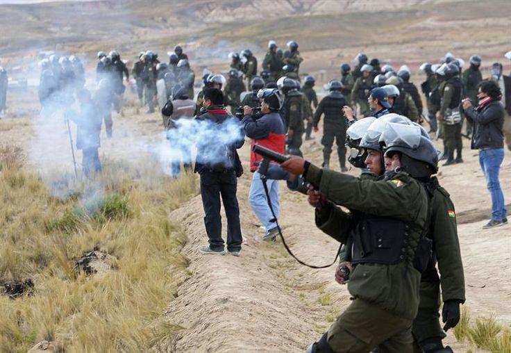 Sector minero se enfrenta al Gobierno de Evo Morales en rechazo a una ley   Radio Panamericana