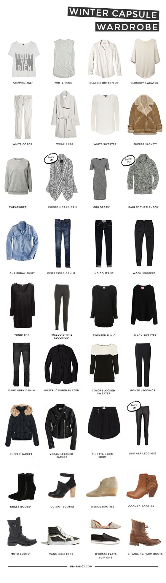 Put on your cozy socks and let's get excited about winter! Pssst … here's a refresher course on capsule wardrobes, just in case you want to brush up. And here's a quick update about my …