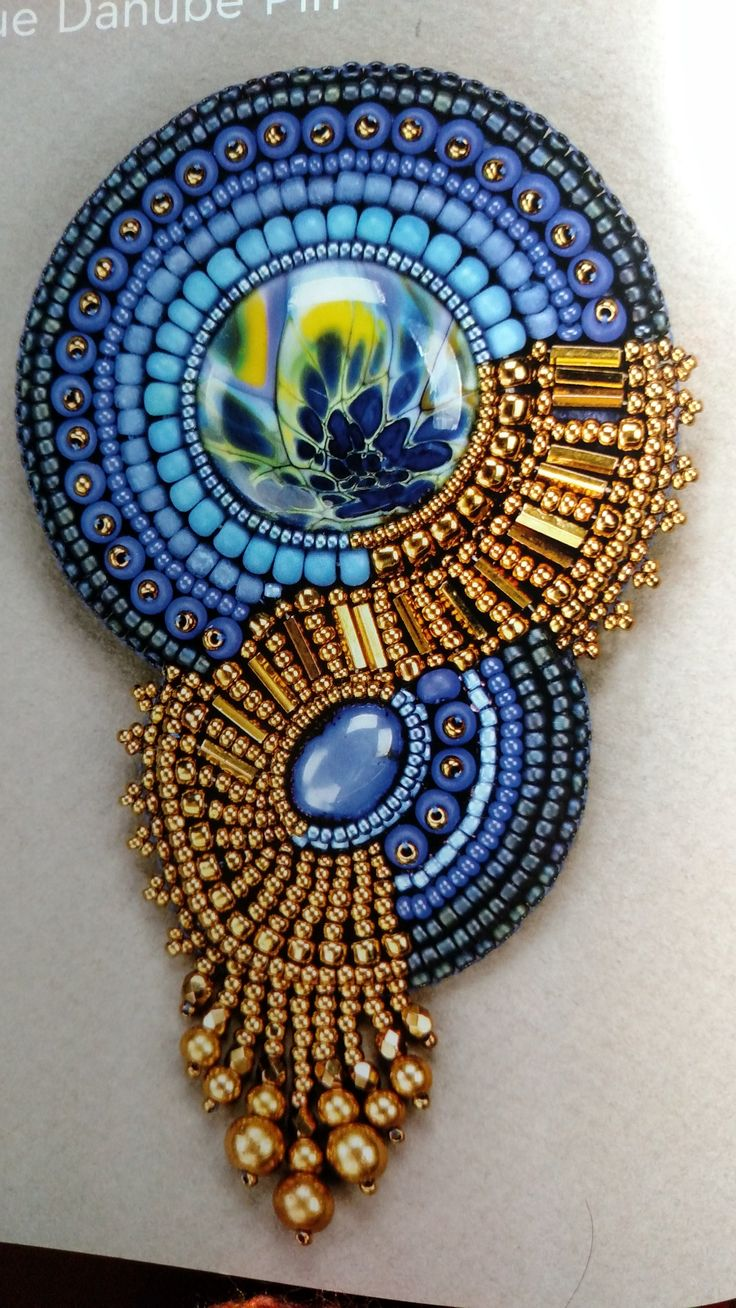 Bead Embroidery Jewelry Projects: Design & Construction, Ideas & Inspiration. 2013, by Jamie Cloud Eakin.