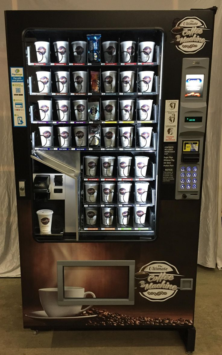 Hair accessories vending machines - Vending Machine With Built In Keurig Coffee Machine Http Www Theultimatecoffeemachine
