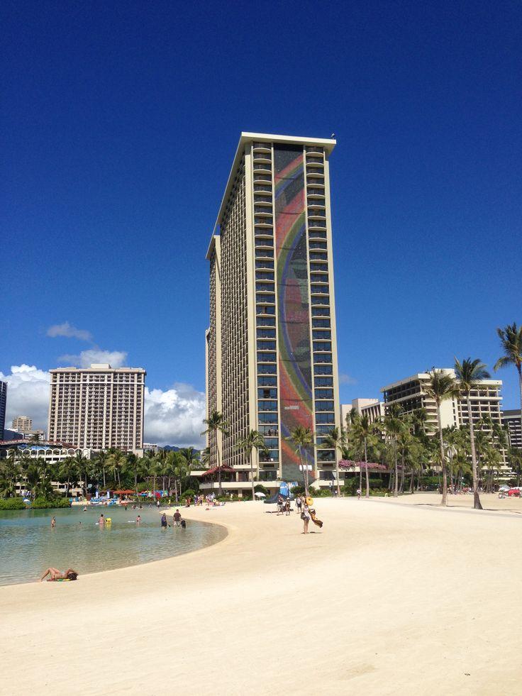 Rainbow Tower at the Hilton Hawaiian Village, Honolulu, Hawaii, USA