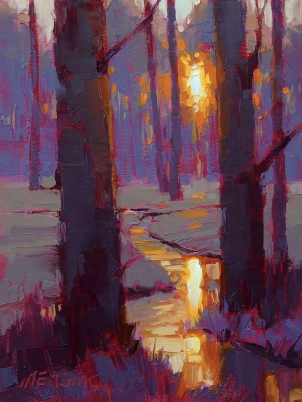 david mensing painting' close' - Google Search #OilPaintingTrees