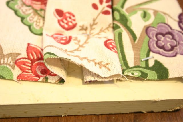 no sew box pleat curtains from a tablecloth