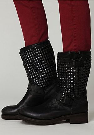 Ash Vedder Boots Vedder Boots, Ash Vedder, Clothing Shoes Jewelry Pur, Biker Boots, Fashion Ideas, Black Boots, Studs Boots, Motorcycles Boots, Free People
