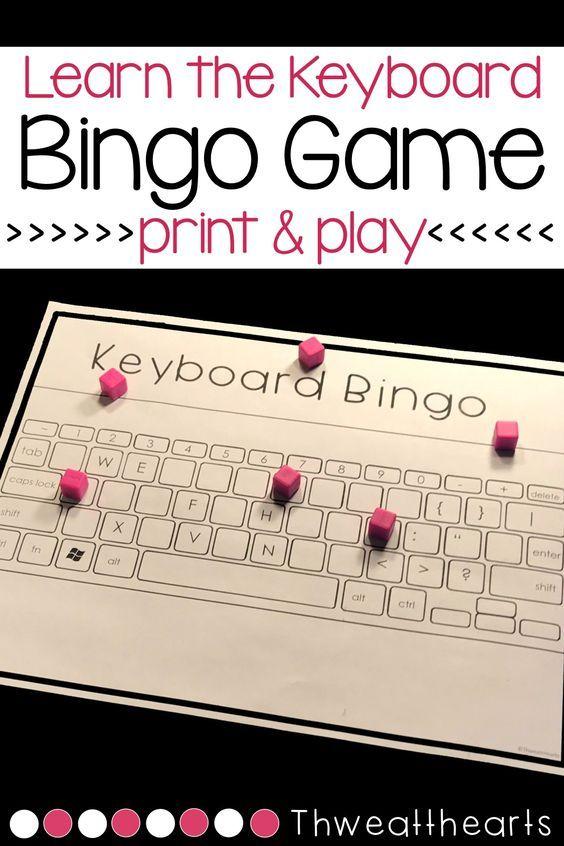 Keyboard Bingo Game | TPT Terrific Technology | Bingo games