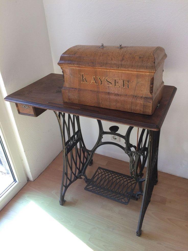 antike kayser n hmaschine in antiquit ten kunst haushalt n hmaschinen ebay vintage or. Black Bedroom Furniture Sets. Home Design Ideas