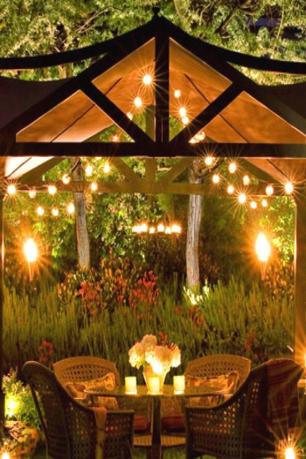 Awesome Outdoor Light Designs You Can Do For Your Backyard