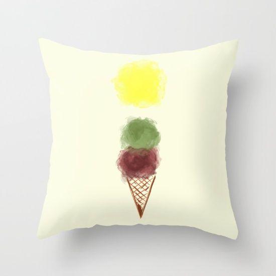 Melting Love Throw Pillow