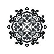 Symbolic, Ink Mandala by Lindsay Kokoska