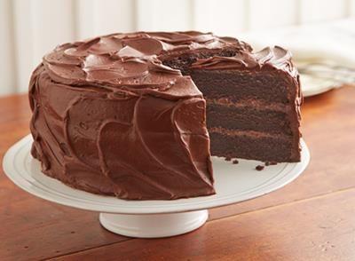 Cuisine HERSHEY'S Canada   Recette de Gâteau au chocolat HERSHEY'S « super chocolaté »