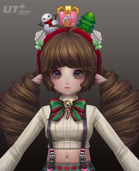 Berserker (Christmas Costume), mina kim on ArtStation at https://www.artstation.com/artwork/QGQkr