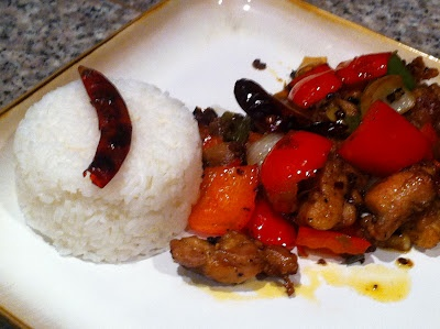 Spicy Four-Chile Pepper Chicken (ching-He Huang used bone-in thighs ...