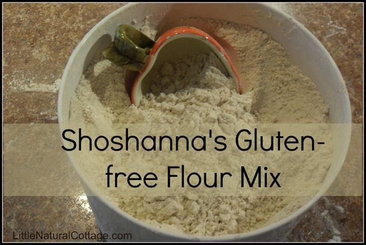 Shoshanna's Gluten-free Flour Mix is a must-have for gluten free goodies!    This wholesome flour blend is simple to make yourself and will most likely easily work with your favorite wheat recipes (take corn bread stuffing and sugar cookies, for instance).