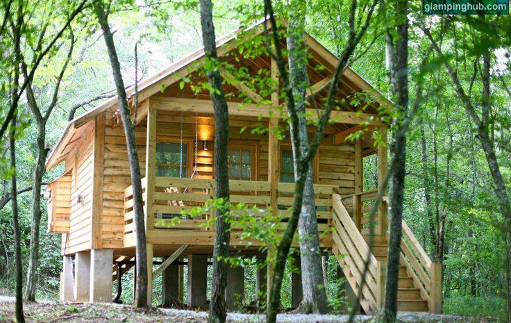 Log Cabin in North Carolina #getaways #woods #retreat